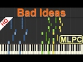 Alle Farben Bad Ideas I Piano Tutorial By MLPC mp3