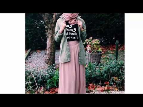 1ea070bc3 Casual Hijab For Girls #hijab_lookbook - 2016 ملابس كاجوال أنيقة للبنات -  YouTube