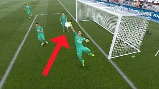 what happens if you have 4 goalkeepers in your goal fifa 17 glitch