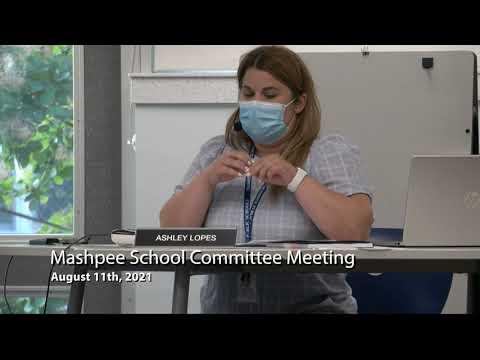 School Committee Meeting 8-11-21