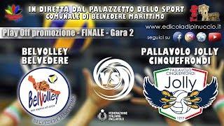 Play off serie CM: GARA 2 FINALE - Belvolley Belvedere VS Jolly Cinquefrondi | IN DIRETTA