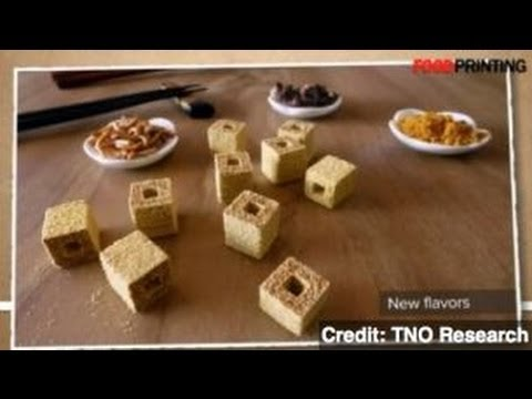 NASA Funds Development of 3D Printed Food