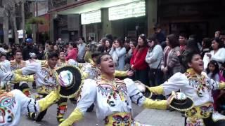 F. A. Caporales Santos Filial Chile & Tradición Joven Dia de Bolivia 2014