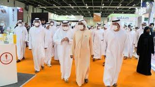 محمد بن راشد يزور معرض الصحة العربي 2021