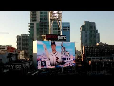 Yankees & Padres lineup @ Petco Park 7/2/16