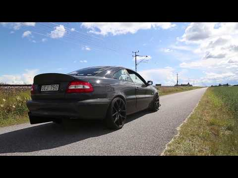 Volvo C70 AWD   LAUNCH CONTROL TESTING AND TAKEOFF