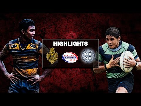 Match Highlights - Wesley College v Royal College Schools Rugby #35