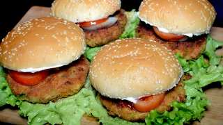 Vegetable Burger With Veggie Patty