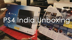 PS4 Gaming Console Unboxing got via PS4 India Mid-Night Launch