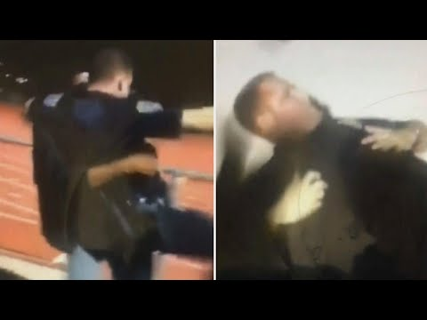 School Officer Body-Slammed by Student at...