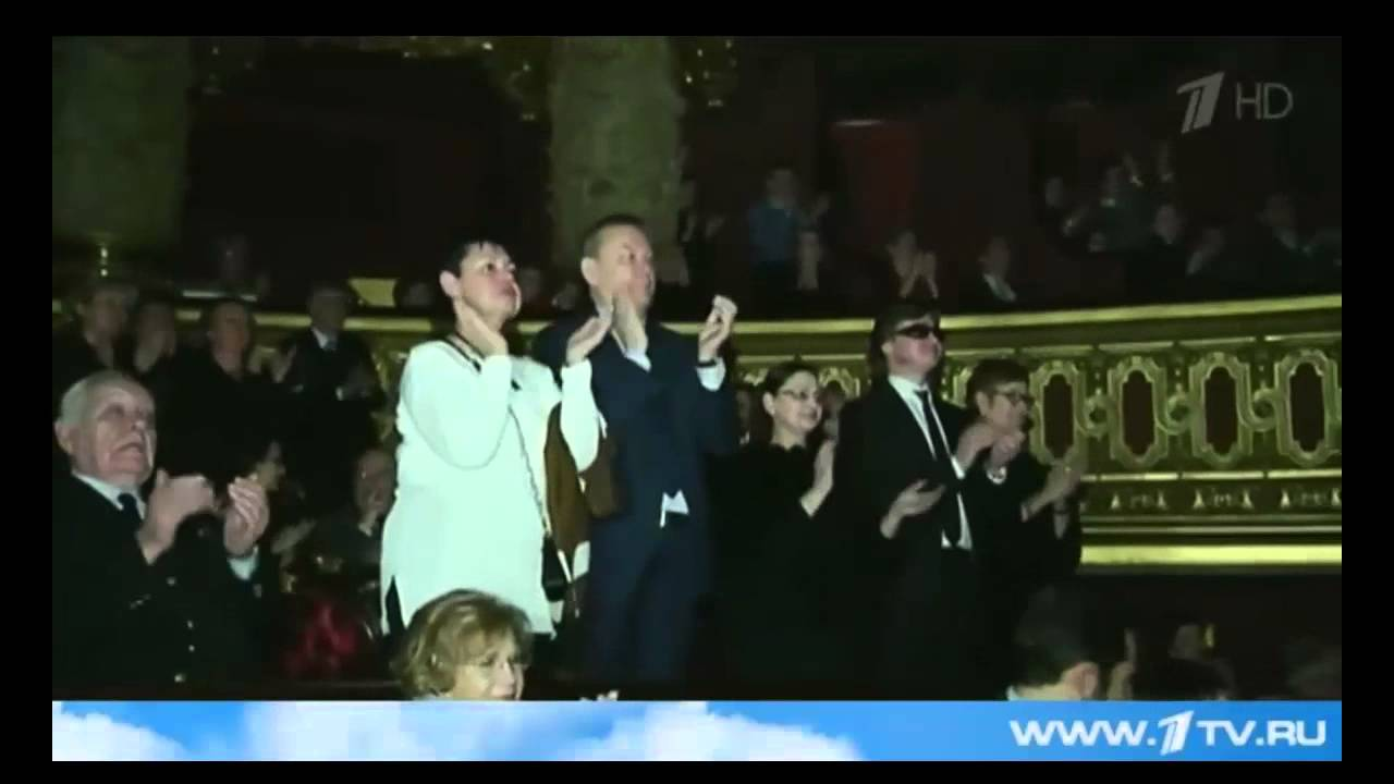 Diana Vishneva 11.05.2015 An artistic evening at Bolshoi - what appeared in the news