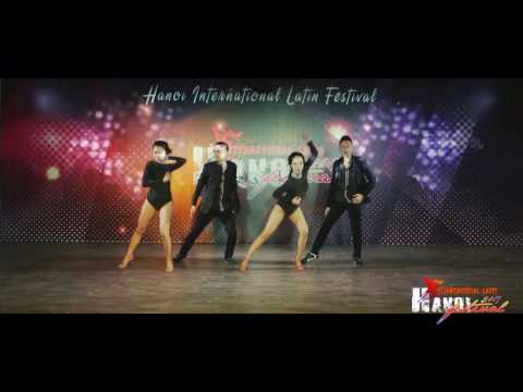 XSalsa Senior Team (Saigon) @ Hanoi International Latin Festival 2017 - Day 2