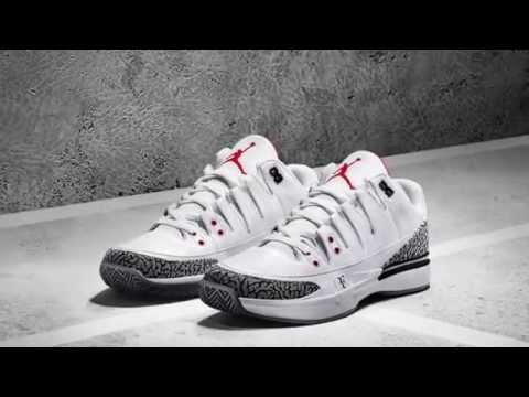 Roger Federer's newest Nike tennis shoe looks just like classic Air Jordans