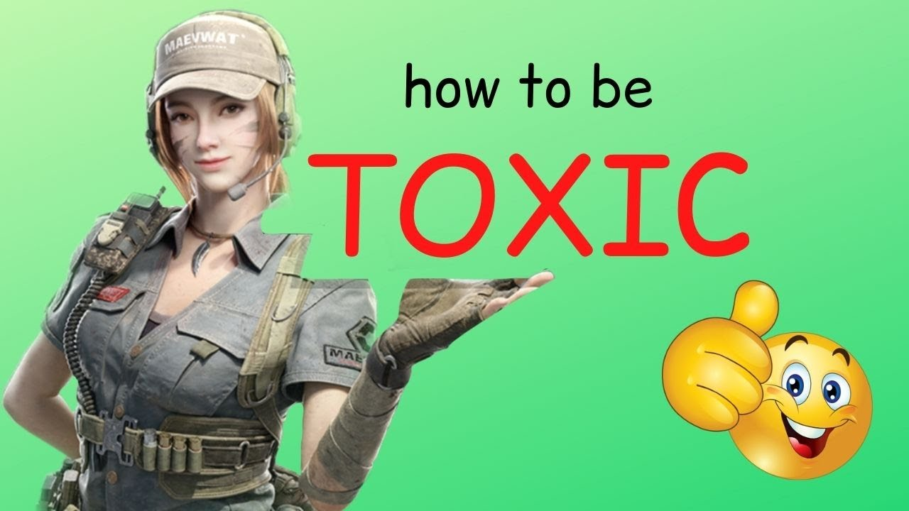 How to be TOXIC in CODM