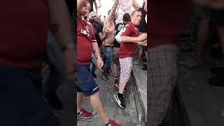 Piacenza Trapani 0a0 festa granata in curva