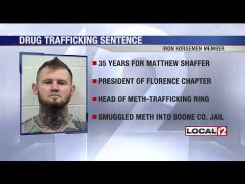President of Florence Iron Horseman chapter given 35 years for meth trafficking