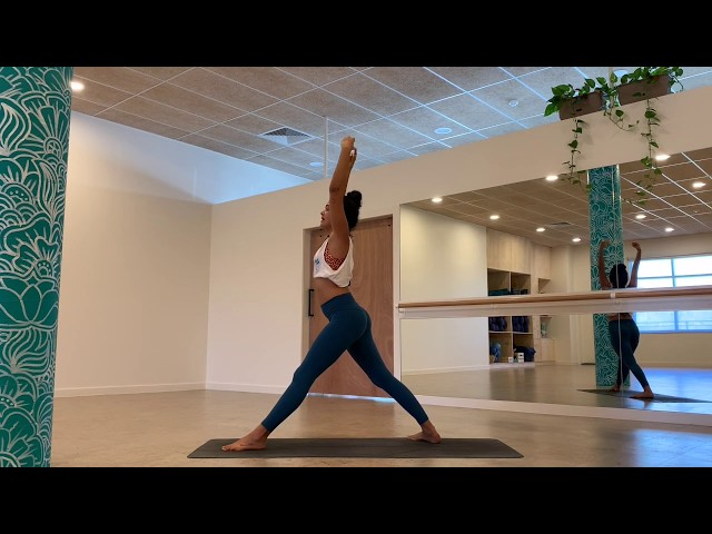 Nalini leads a 20 minute invigorating morning yoga flow