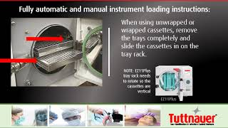 Instrument Loading for Tabletop Autoclave Sterilizers [Tuttnauer USA]