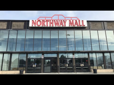 Yes There Are Dead Malls In Alaska And No They Aren't In Igloos.  Northway Mall In Anchorage Alaska