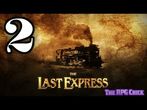 Let's Play The Last Express (Blind), Part 2 of 12: Gasp! A Murder!