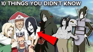 10 Things You Didn't Know About Orochimaru - Boruto & Naruto