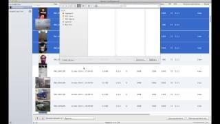 Импорт фотографий через программу Захват Изображений