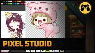 Pixel Studio - Как рисовать по клеточкам пиксель арт на Android и IOS. Обзор и гайд by Artalasky