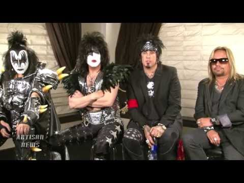 KISS, MOTLEY CRUE EXCLUSIVE ANS INTERVIEW -- NEW!
