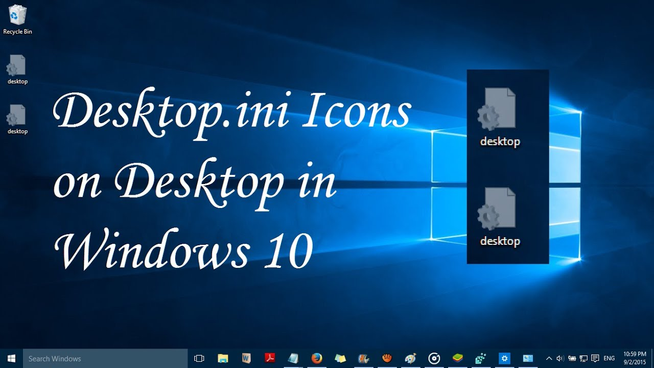 Desktop.ini files: what it is and whether it is possible to get rid of them 51