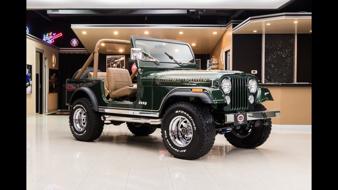 1977 jeep cj7 for sale [ 1280 x 720 Pixel ]