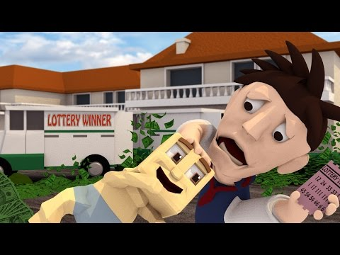 Minecraft | WHO'S YOUR DADDY! Dad + Lottery Ticket = BABY IS A MILLIONAIRE?! (Baby Wins Lottery)