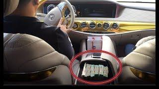 """Đi Dạo Cùng Phúc XO Và """"Choáng Váng"""" Khi Thấy Cục Tiền 500 Triệu Trong Xe Mercedes Maybach"""