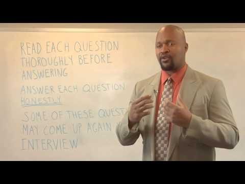 How to Answer a Job Pre-Screening Questionnaire