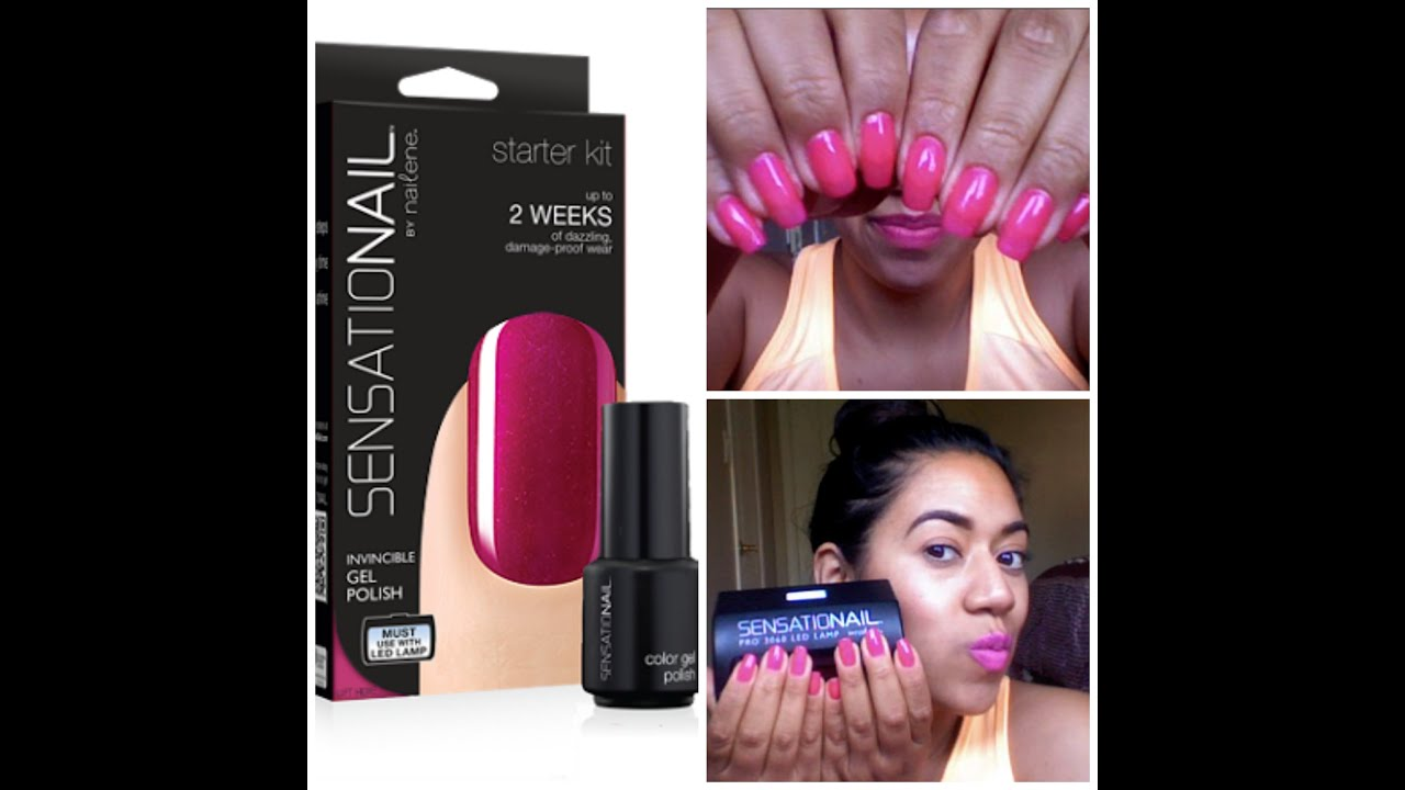 SensatioNail by Nailene Gel Nail Polish Product Review ...