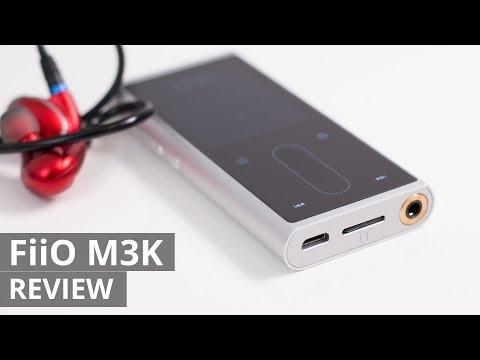 FiiO M3K Hi-RES portable audio player REVIEW - WAV/MP3/FLAC/DSD