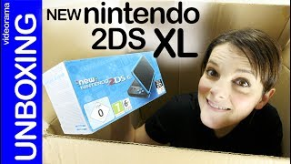 New Nintendo 2DS XL unboxing -Pokémon a toda pantalla-