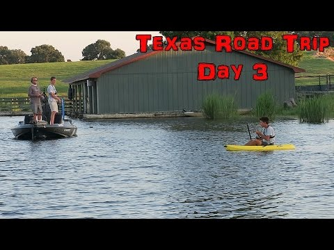 Got Shot At, Crashed a Drone but the Bass Fishing was Great - Texas Day 3 Vlog