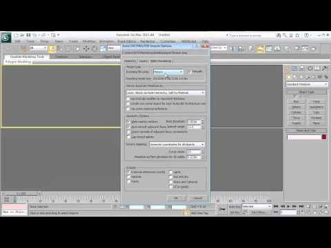 How 3ds max works?[Architecture Project] part 1 [Arabic]