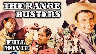 THE RANGE BUSTERS | Full Length Western Movie | Ray Corrigan | English | HD | 720p