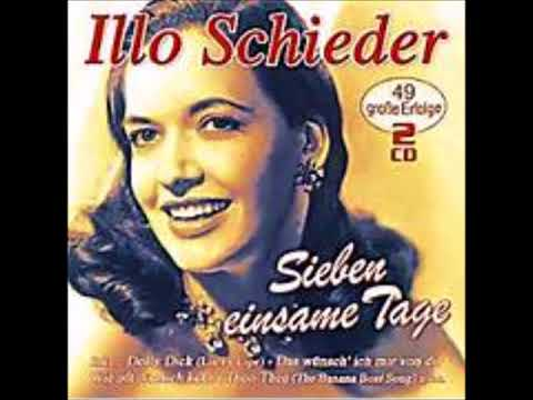 Sieben Einsame Tage     Illo Schieder 1954