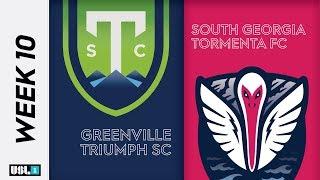 Greenville Triumph SC vs South Georgia Tormenta FC: June 1st, 2019