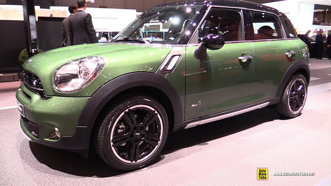 2015 mini cooper sd countryman all4 diesel exterior interior walkaround 2015 geneva motor. Black Bedroom Furniture Sets. Home Design Ideas