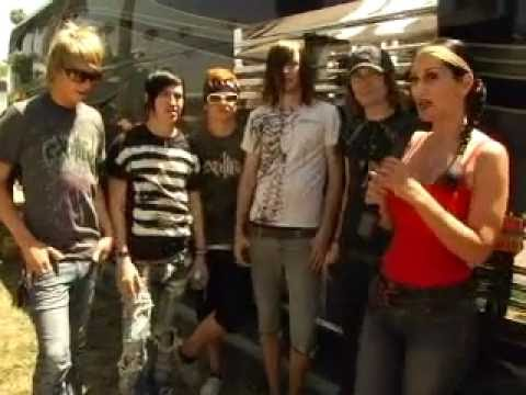 Metal Sanaz at Warped Tour 2007