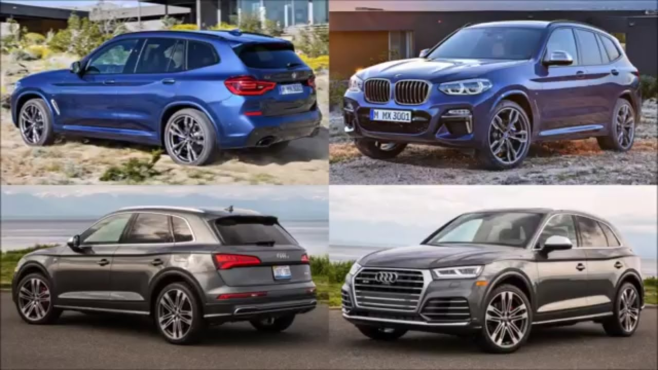 bmw x3 2018 vs audi q5 2018 youtube. Black Bedroom Furniture Sets. Home Design Ideas