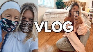 VLOG: last week of summer classes & hanging with fam