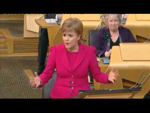 A hell of a fight in Scottish Parliament over education