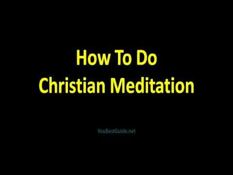 Christian Meditation I Guided Meditation
