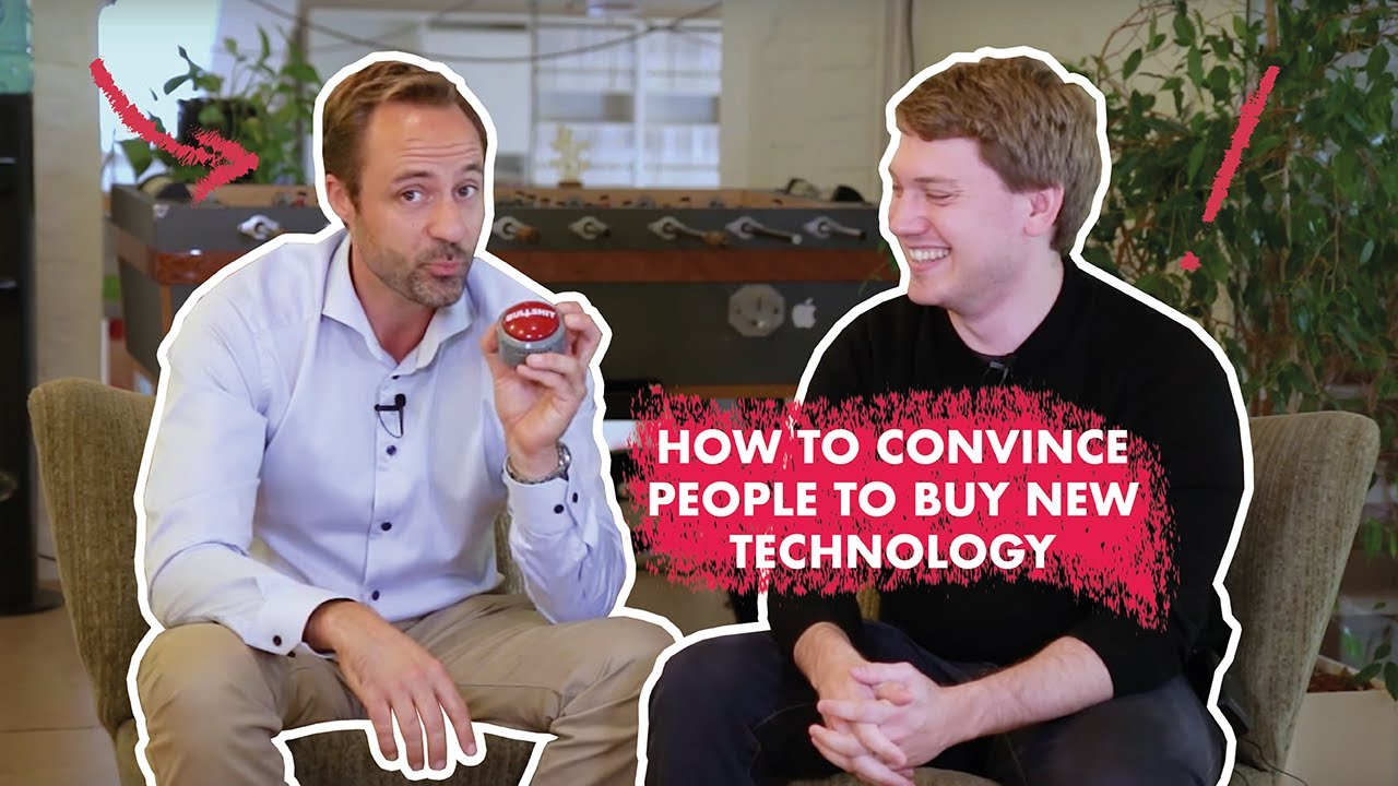 How to convince people to buy new technology