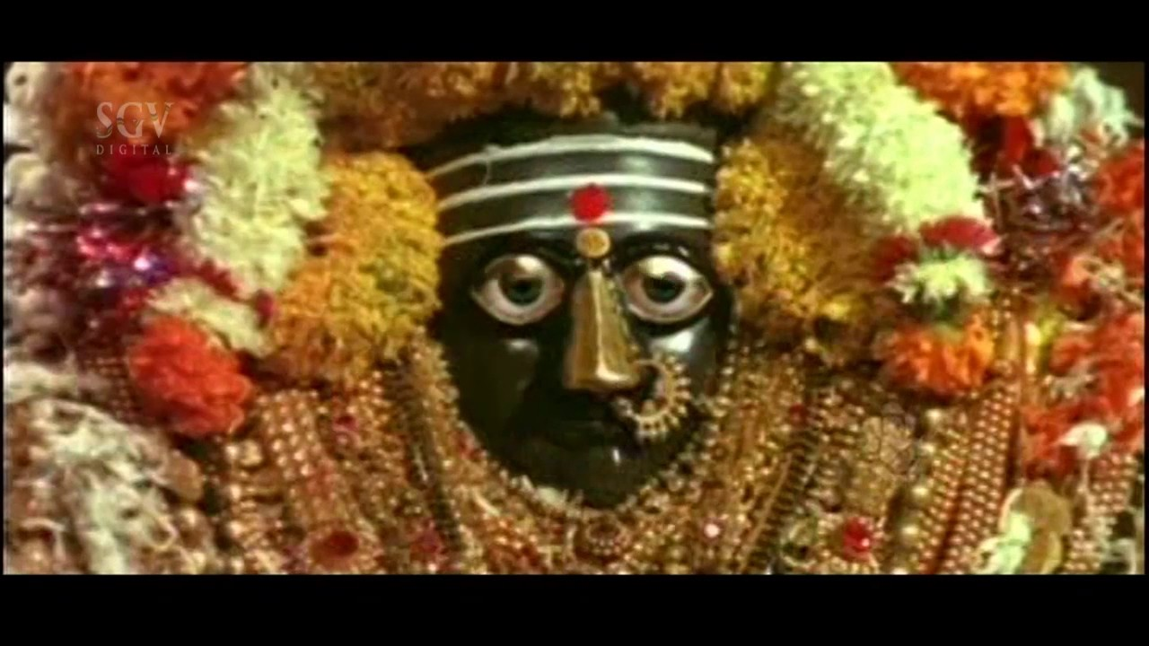 Sri Danamma Devi Kannada Movie Scene | Jayanthi Saying Devi Story Scene by  Movie Zone