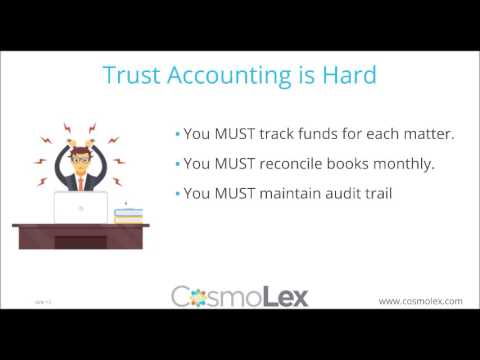 Essential Rules for Attorney Trust Accounting | CosmoLex Web